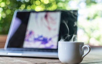 Online cello koffiemoment